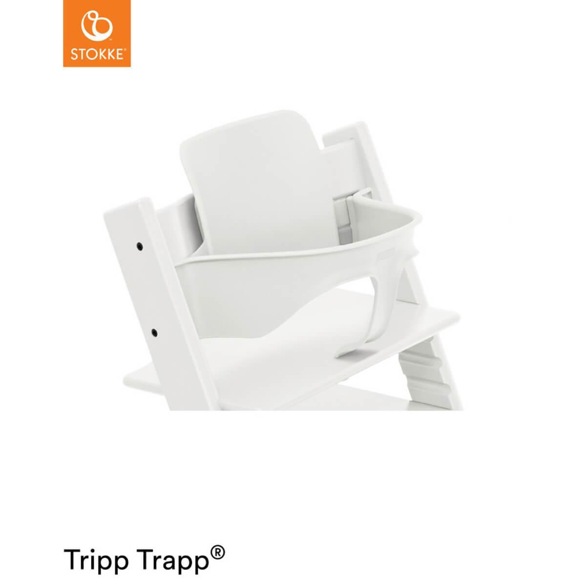 Baby set trona bebé TRIPP TRAPP Stokke blanco