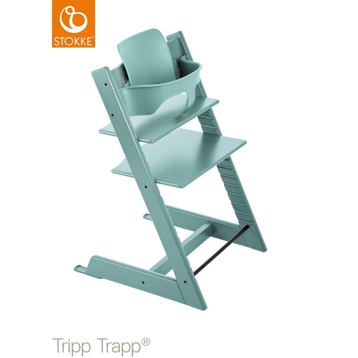 Baby set trona bebé TRIPP TRAPP Stokke bleu aqua