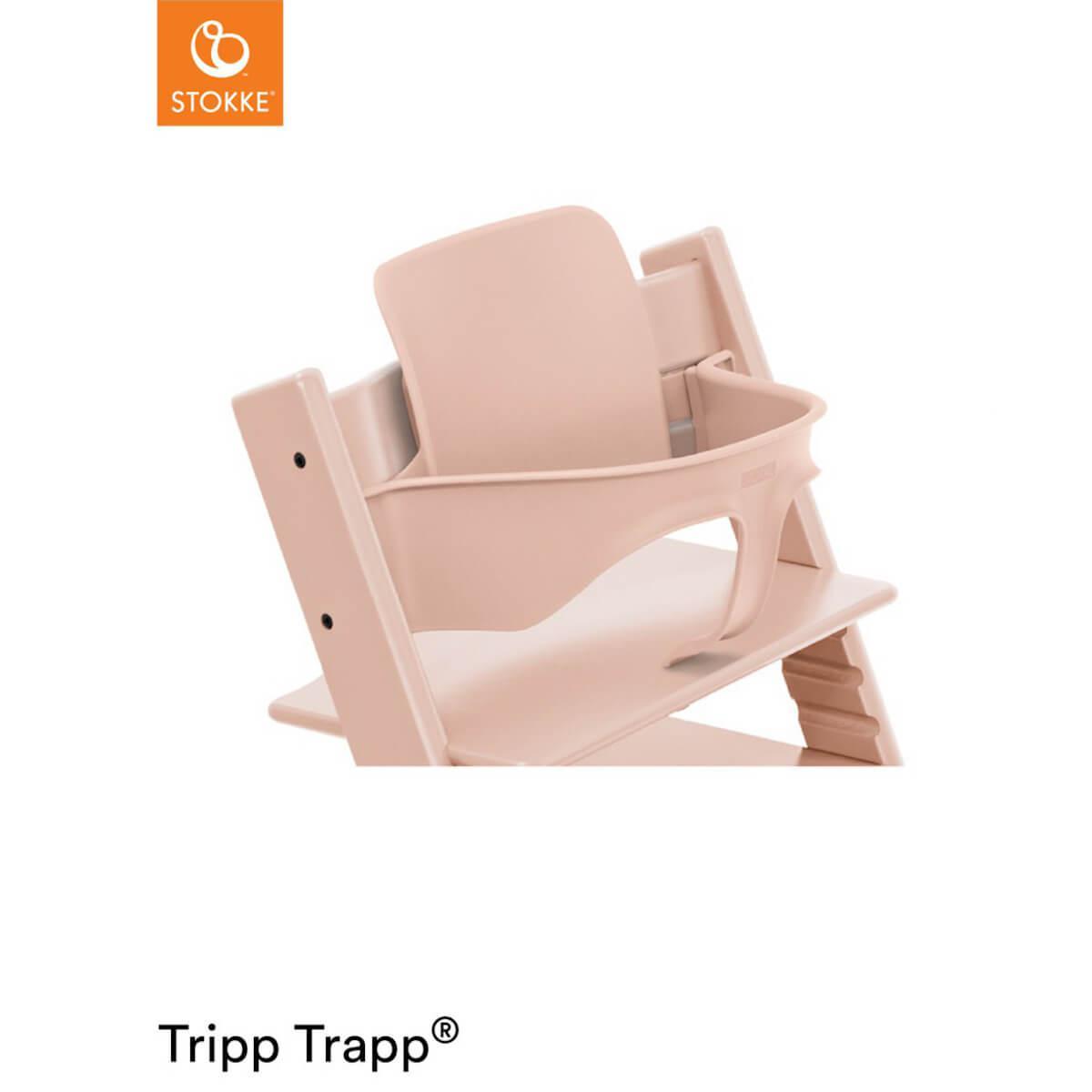 Baby set trona bebé TRIPP TRAPP Stokke serene rosa