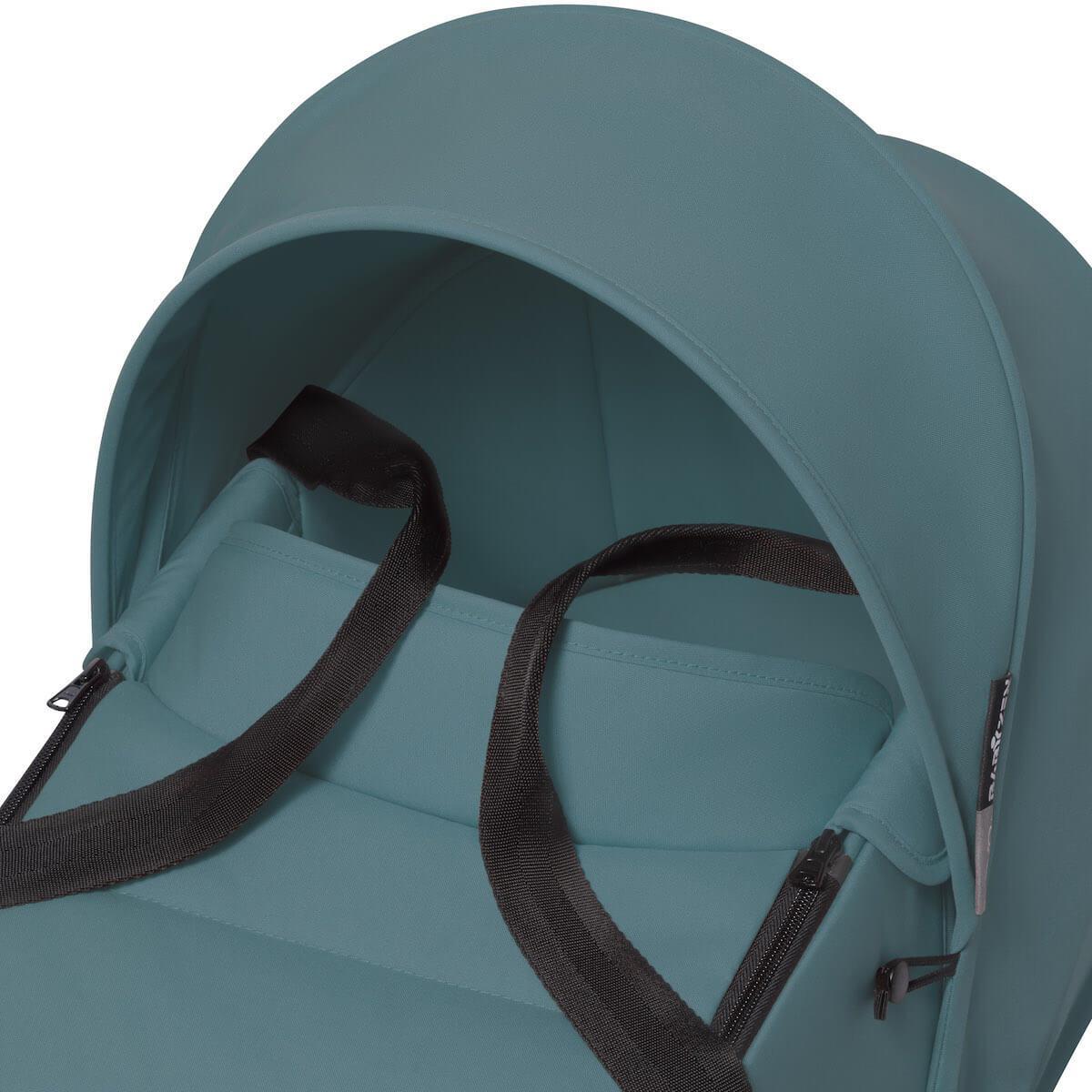 BABYZEN cochecito completo YOYO² bassinet 0+ 6+ blanco-aqua