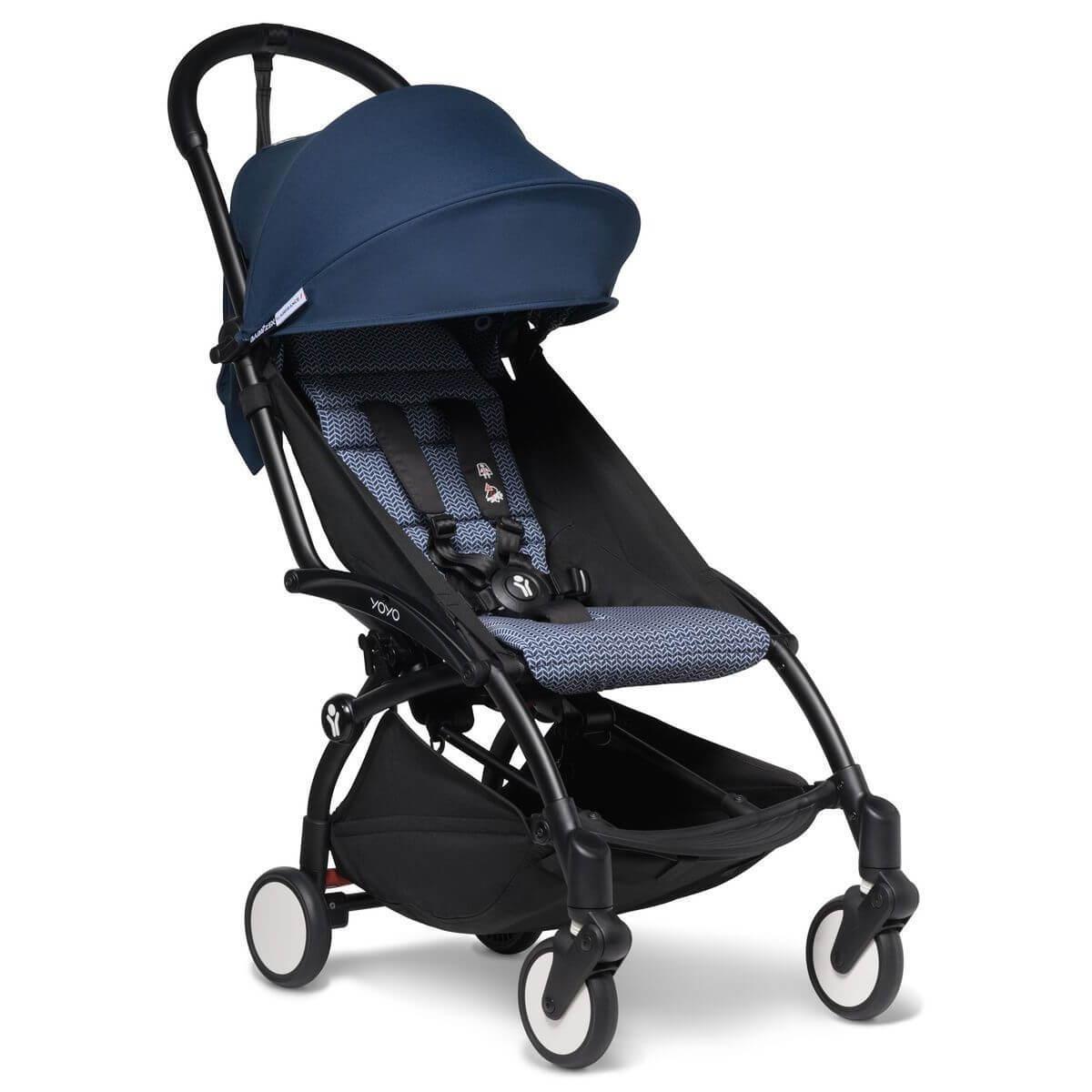 BABYZEN cochecito completo YOYO² bassinet 0+ 6+ negro-azul Air France