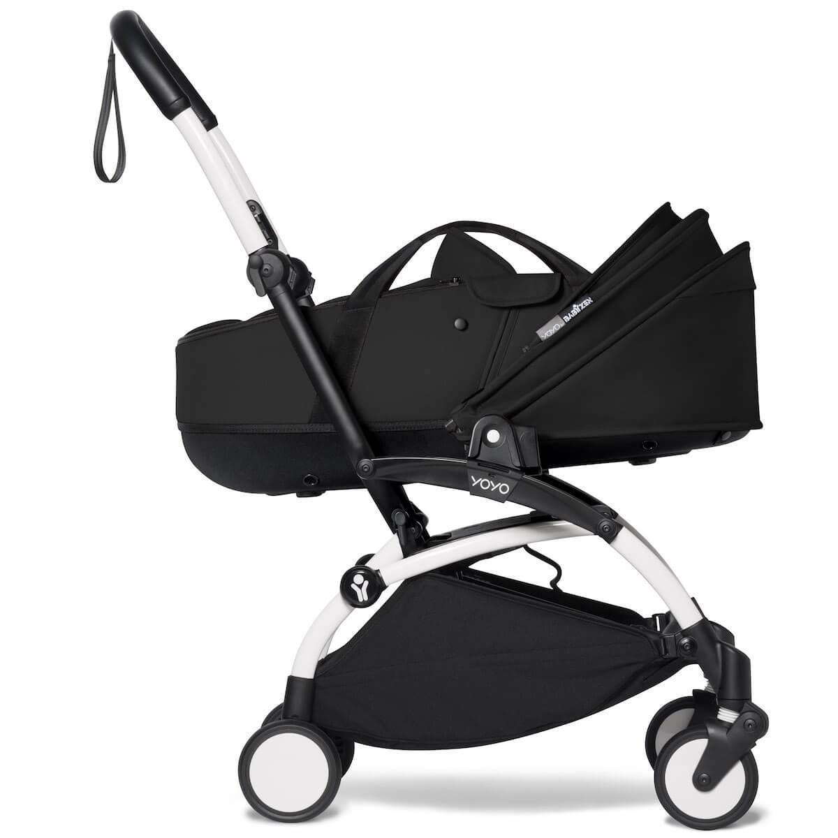 BABYZEN cochecito completo YOYO² bassinet 6+ blanco-negro