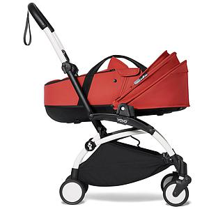 BABYZEN cochecito completo YOYO² bassinet 6+ blanco-rojo
