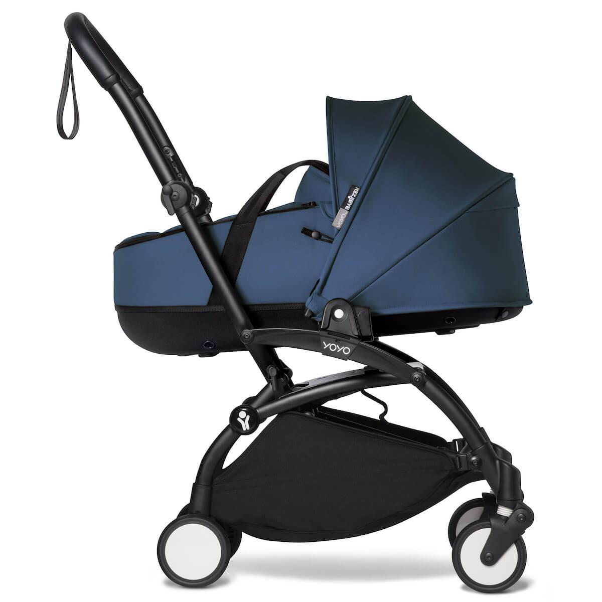 BABYZEN cochecito completo YOYO² bassinet 6+ negro-azul Air France