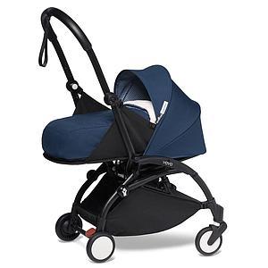 BABYZEN cochecito todo-en-uno YOYO² 0+ silla auto 6+ negro-azul Air France