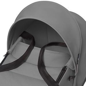 BABYZEN cochecito todo-en-uno YOYO² bassinet car seat 6+ blanco-gris