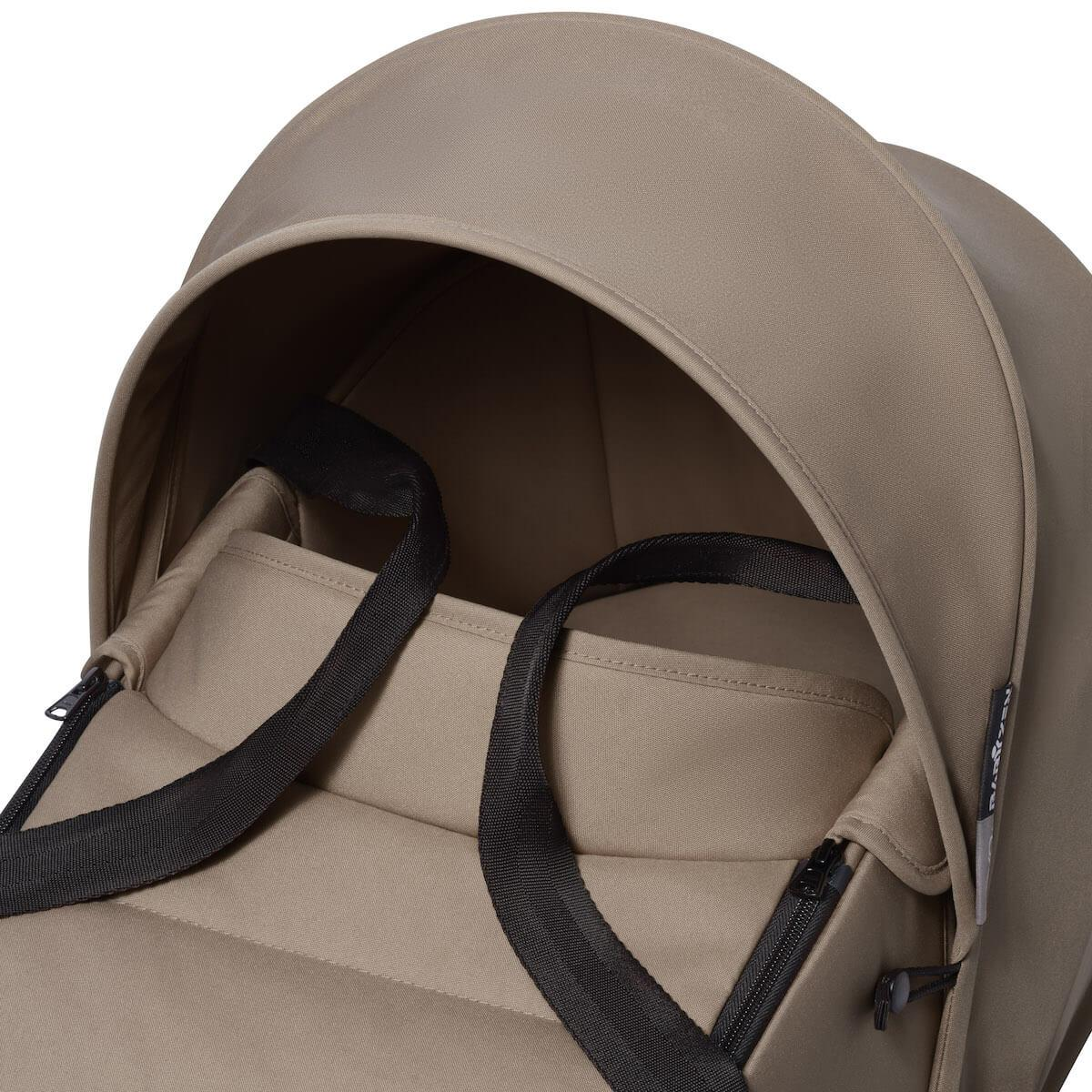 BABYZEN cochecito todo-en-uno YOYO² bassinet car seat 6+ blanco-taupe