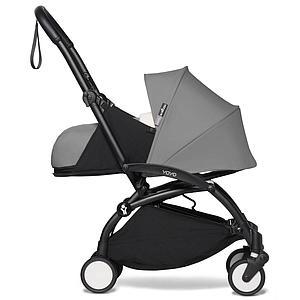 BABYZEN cochecito YOYO² 0+ negro-gris