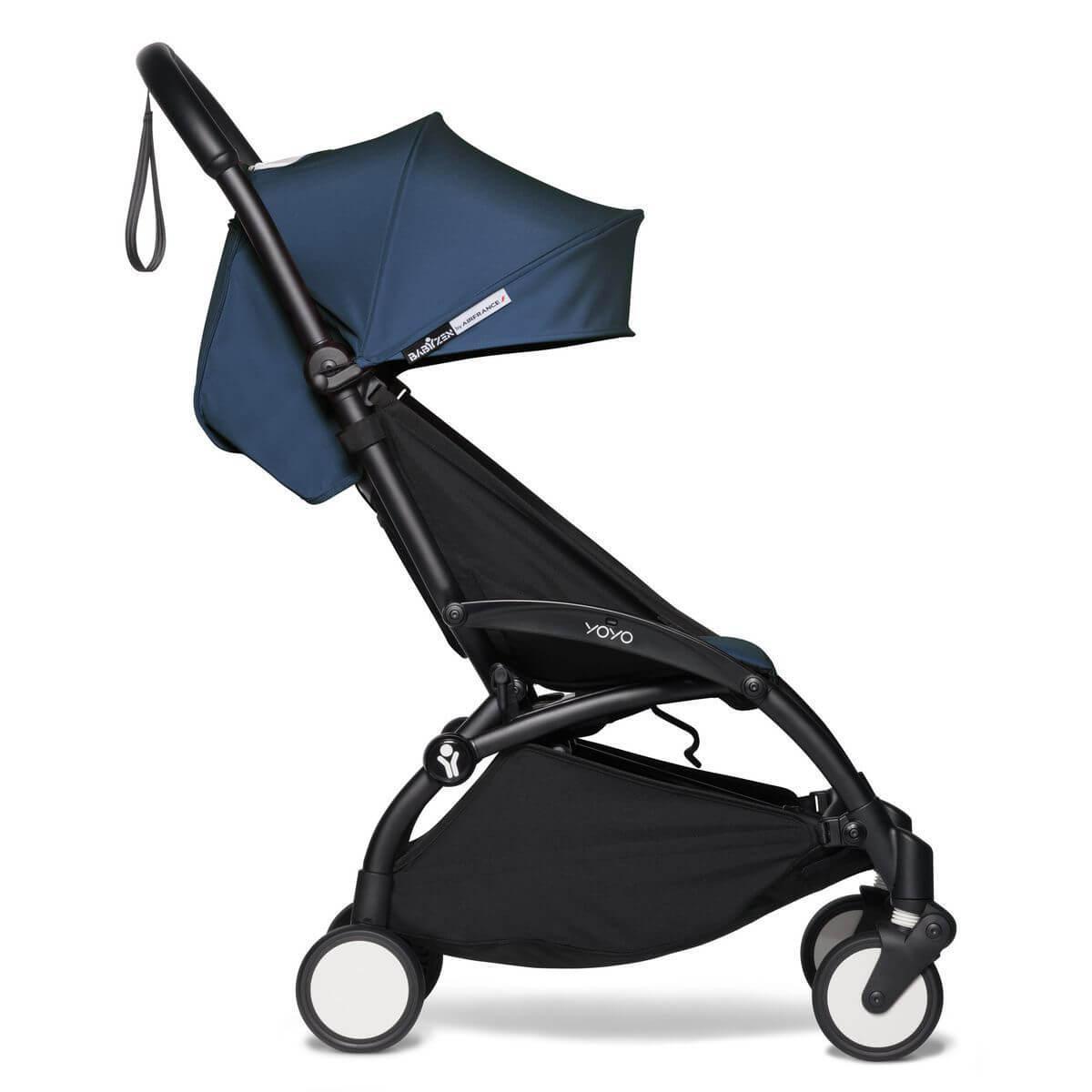 BABYZEN cochecito YOYO² 6+ negro-azul Air France