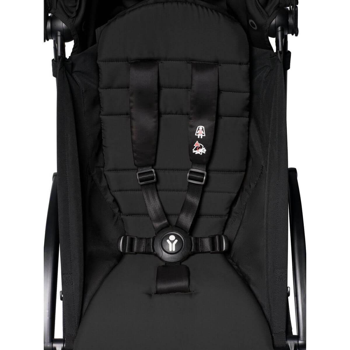 BABYZEN cochecito YOYO² 6+ negro-negro