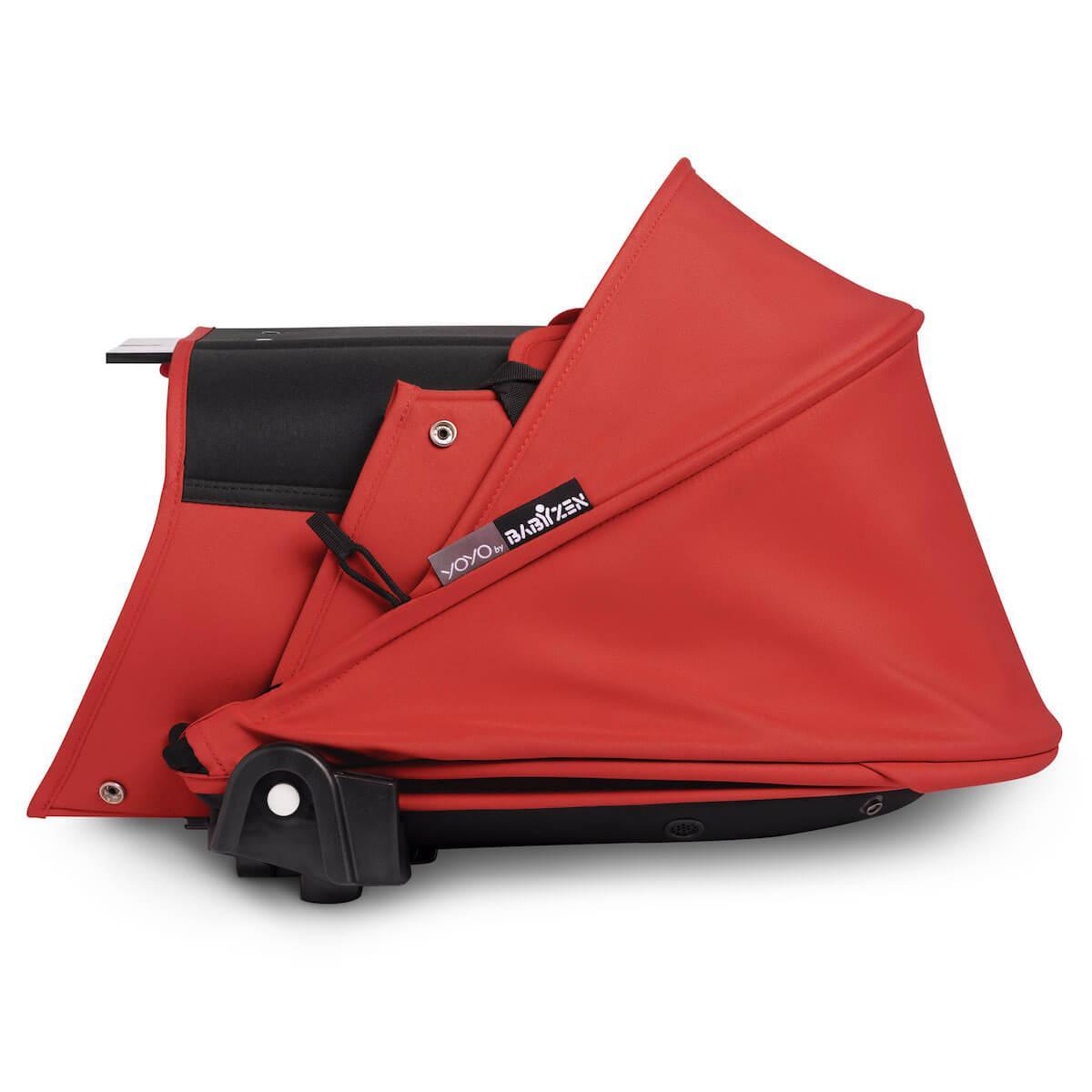 BABYZEN cochecito YOYO² bassinet blanco-rojo