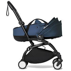 BABYZEN cochecito YOYO² bassinet negro-azul Air France