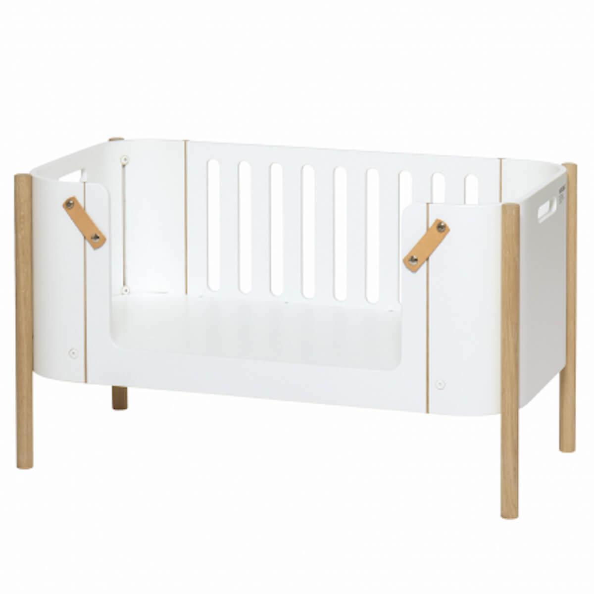 Banco infantil WOOD Oliver Furniture blanco-roble