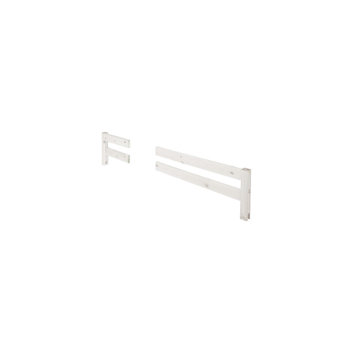 Barrera 2 partes Cama 200cm CLASSIC Flexa blanco cal