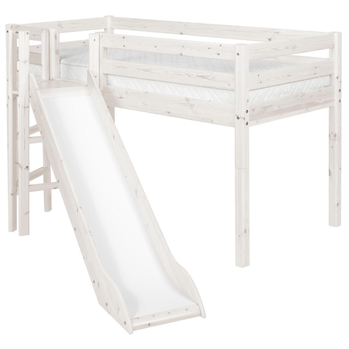 Barrera 3/4 Cama 90x200 CLASSIC Flexa blanco cal