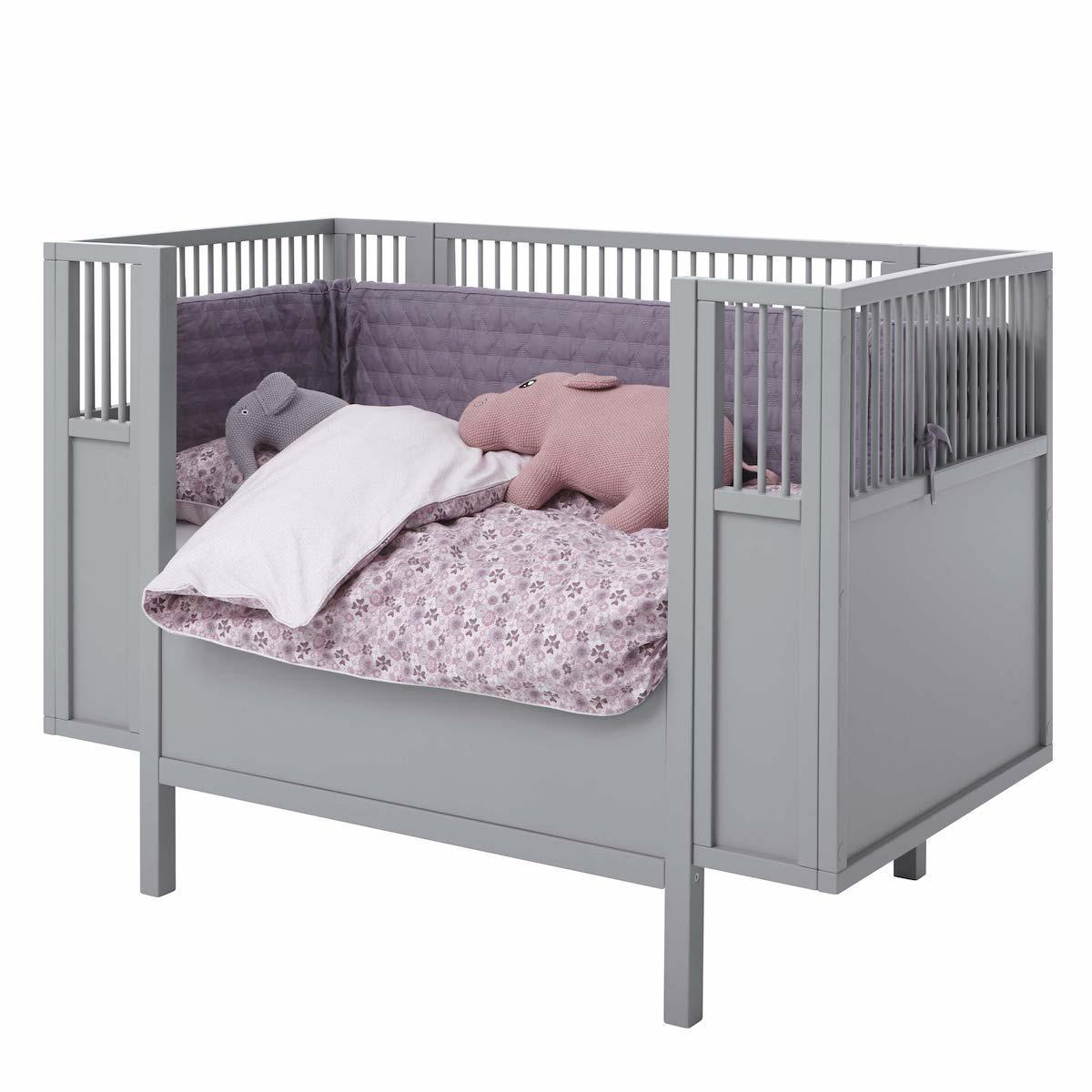 Barrera cama bebé 60x120cm Lifetime gris