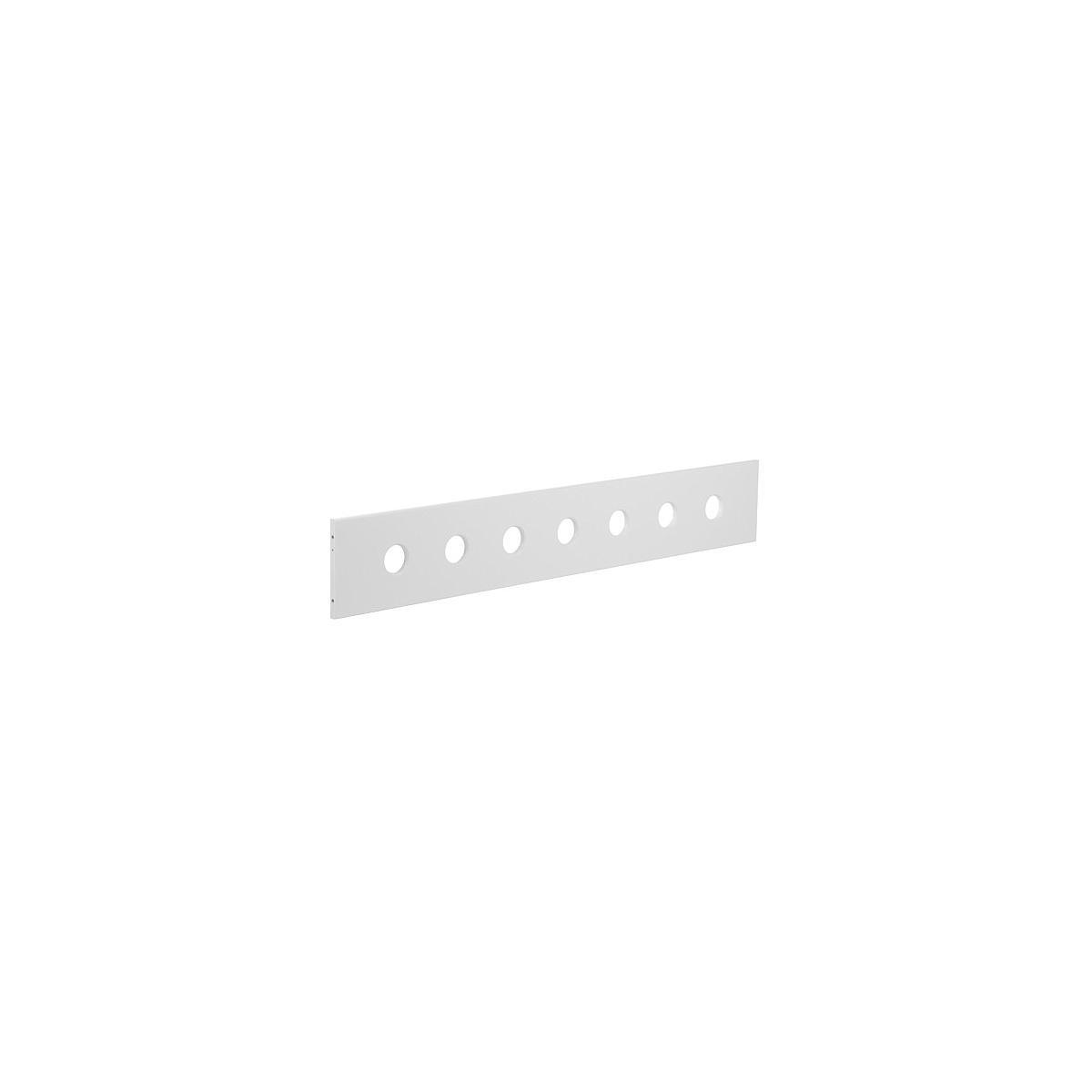 Barrera delantera 3/4 Cama 90x190 WHITE Flexa blanca