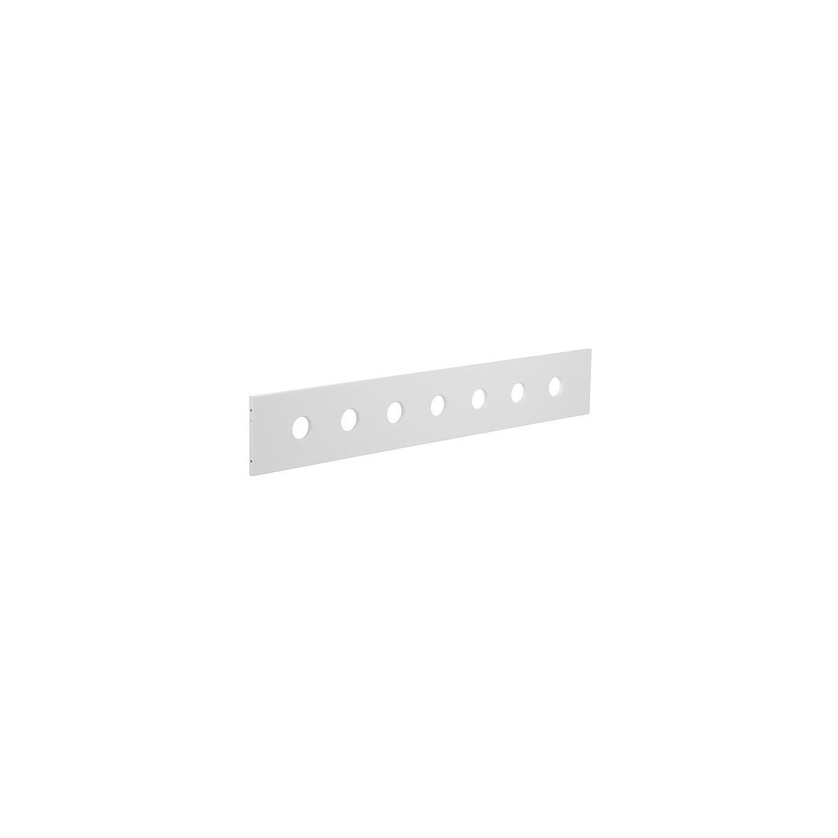 Barrera delantera 3/4 Cama 90x200 WHITE Flexa blanca