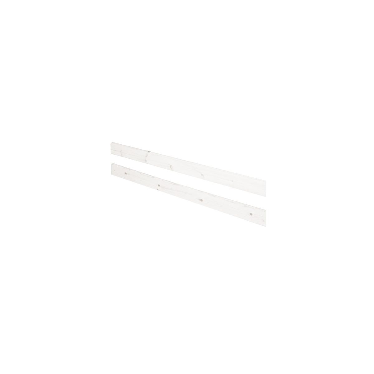 Barrera posterior Cama 190cm CLASSIC Flexa blanco cal