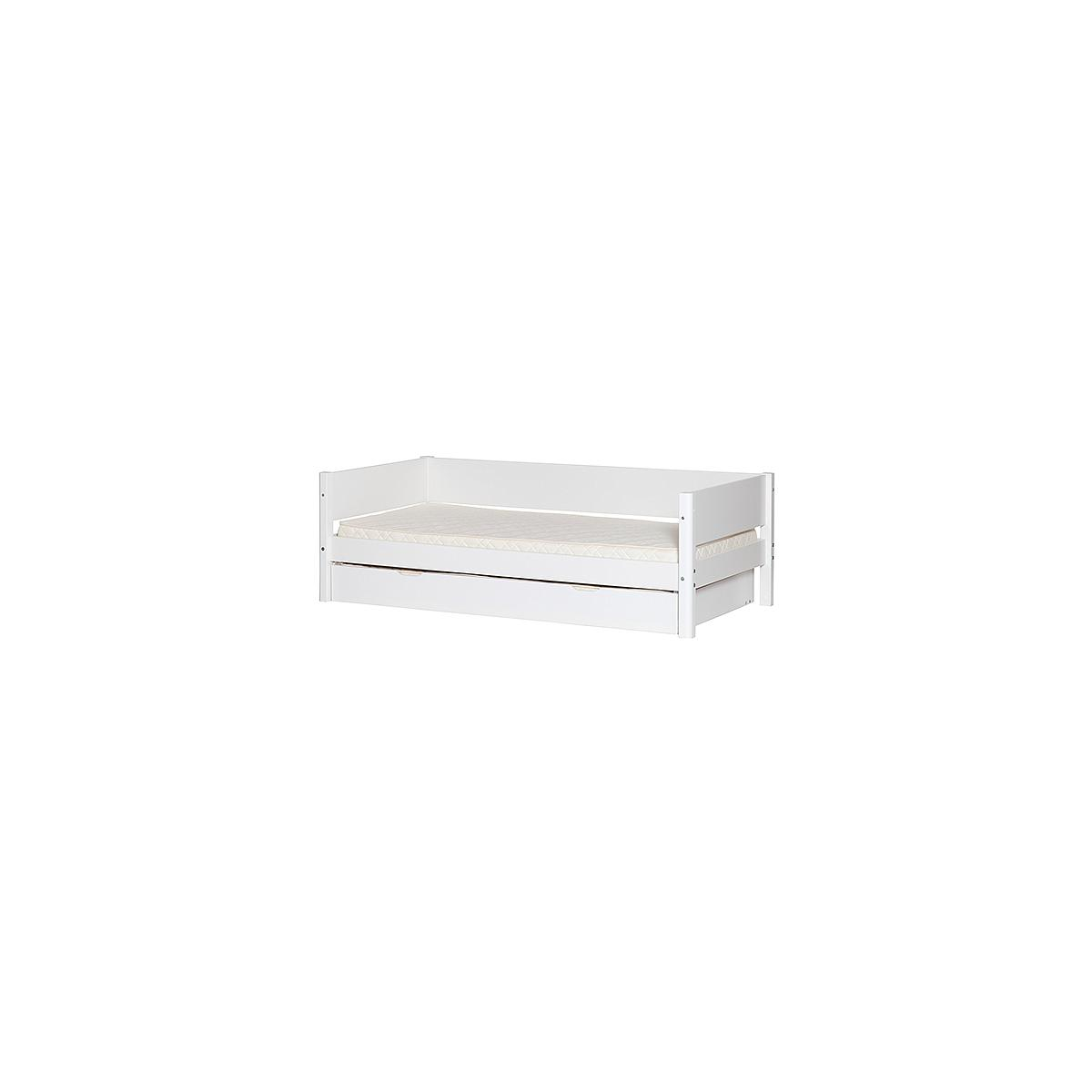 Barrera trasera Cama 90x190 cm WHITE blanca
