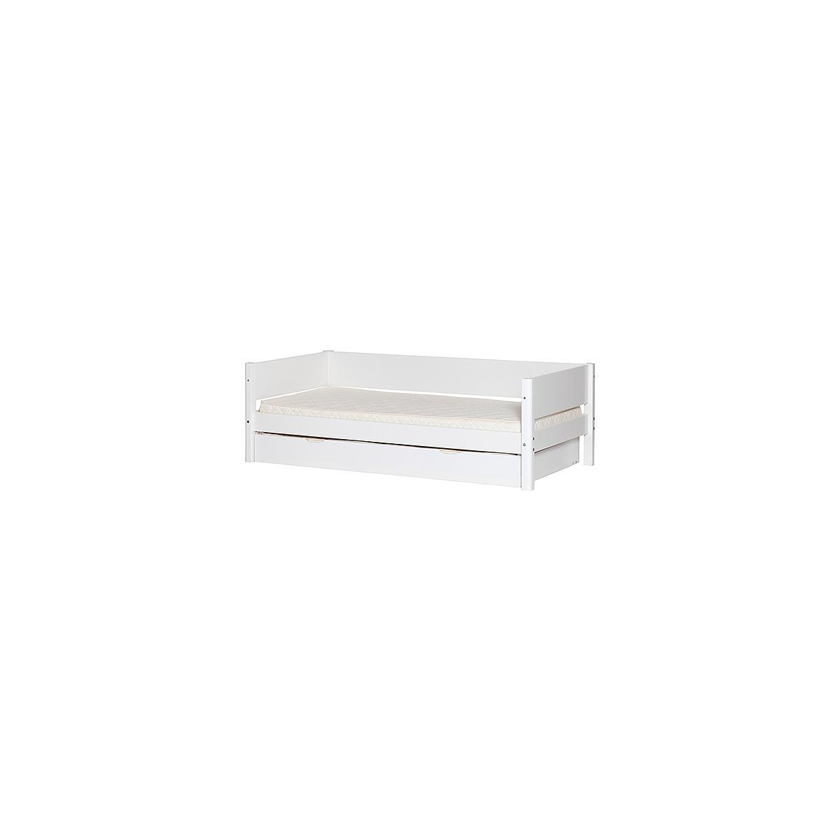 Barrera trasera Cama 90x200 WHITE Flexa blanca