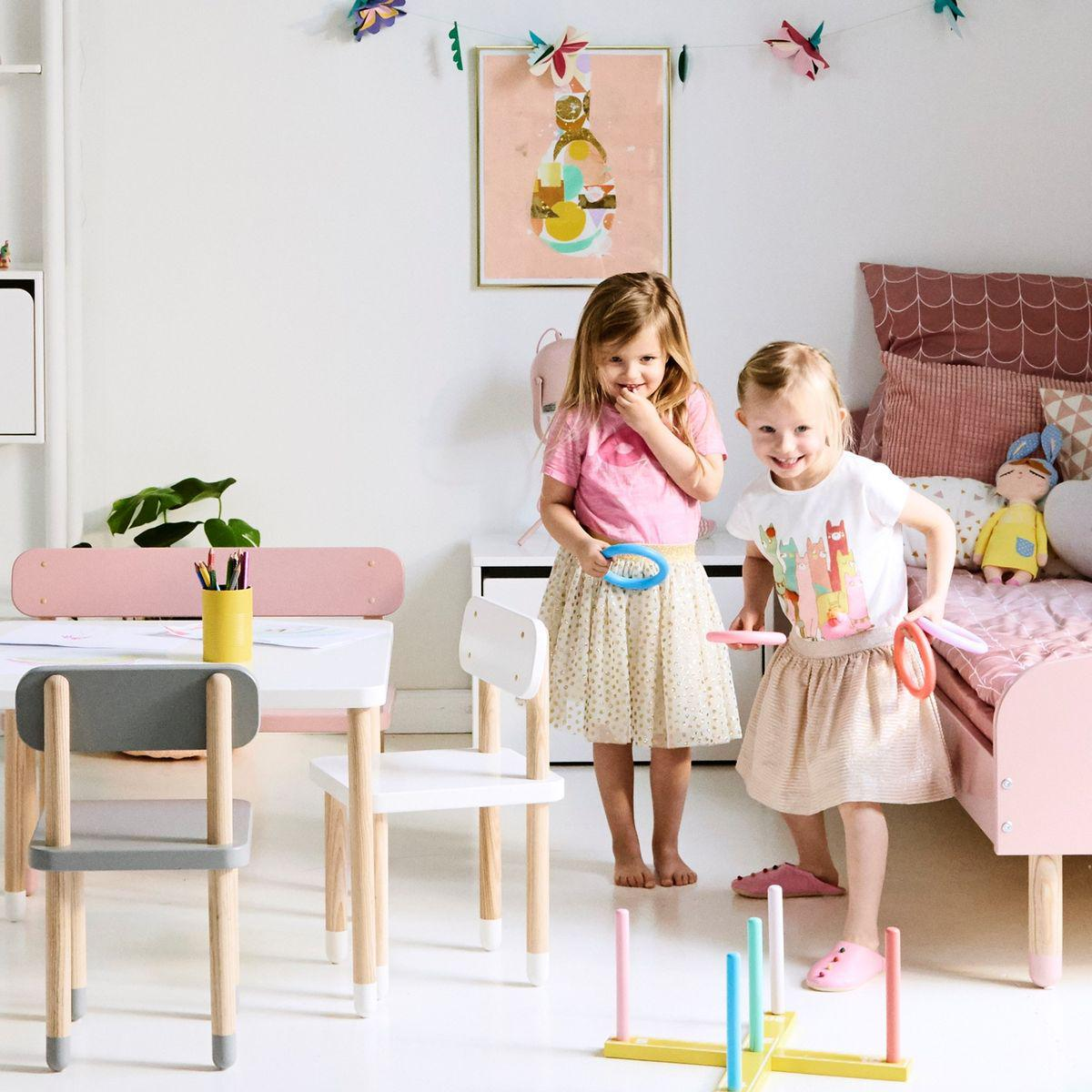 Baúl infantil PLAY Flexa blanco
