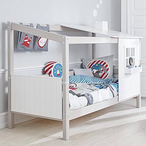 Bolsillos cama infantil LITTLE HEROES Flexa