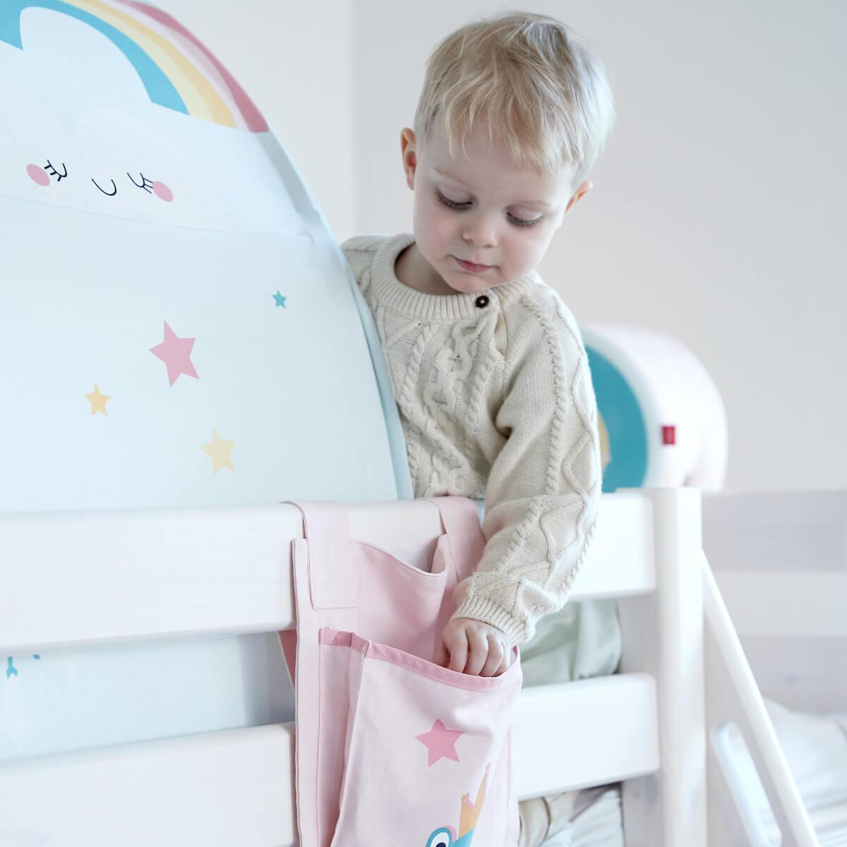 Bolsillos cama infantil PRINCESA Flexa