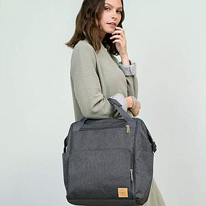 Bolso cambiador GLAM GOLDIE Laessig anthracite