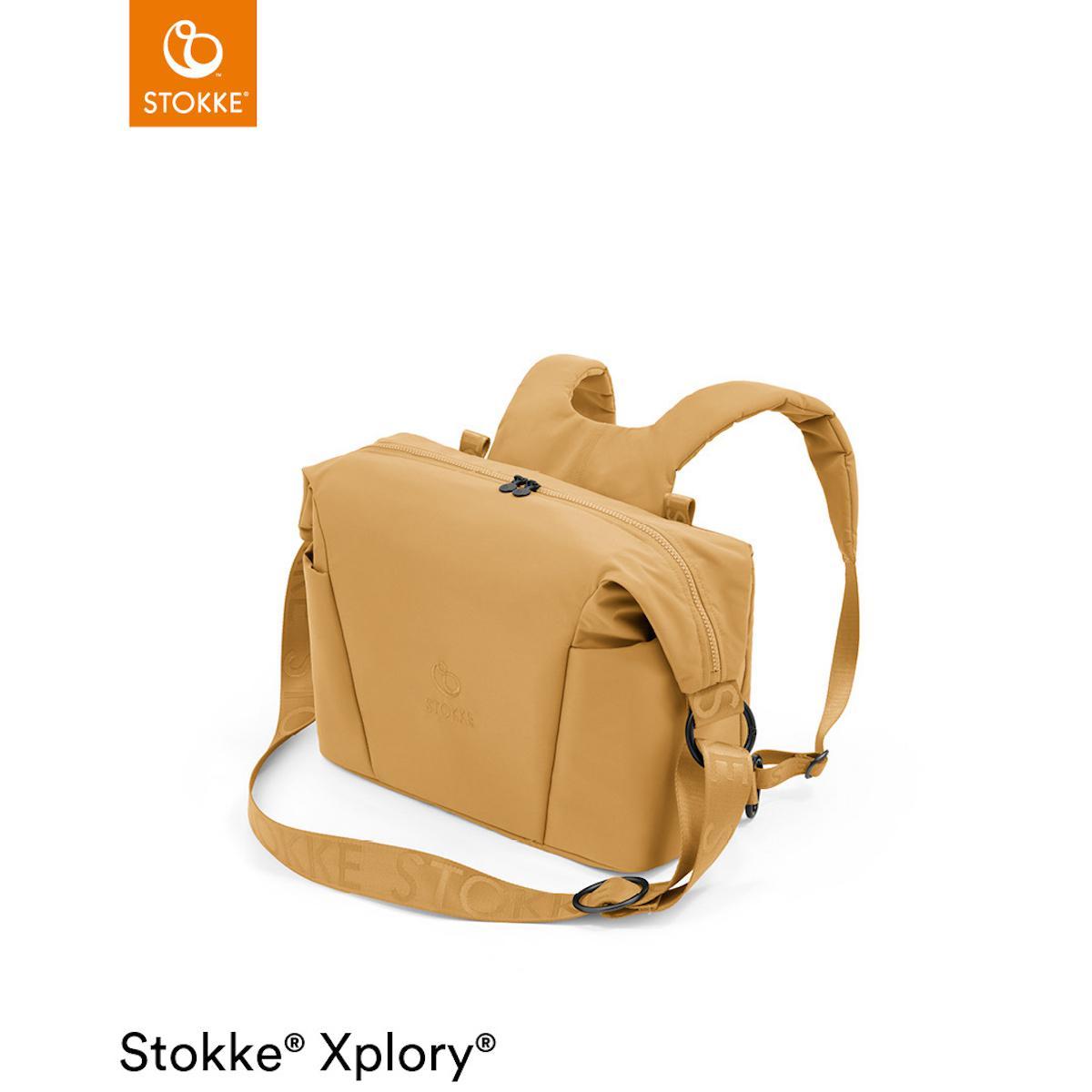 Bolso cambiador XPLORY X Stokke Golden Yellow