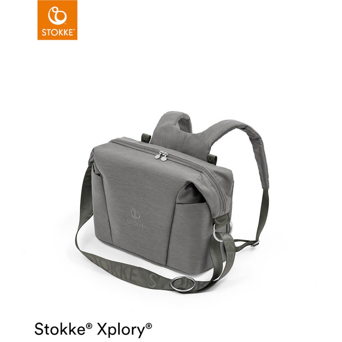 Bolso cambiador XPLORY X Stokke Modern Grey
