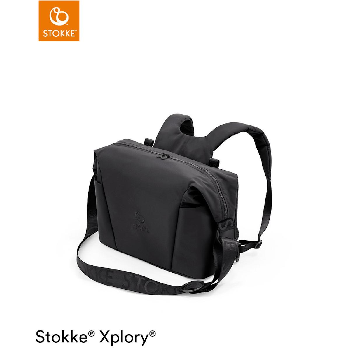Bolso cambiador XPLORY X Stokke Rich Black