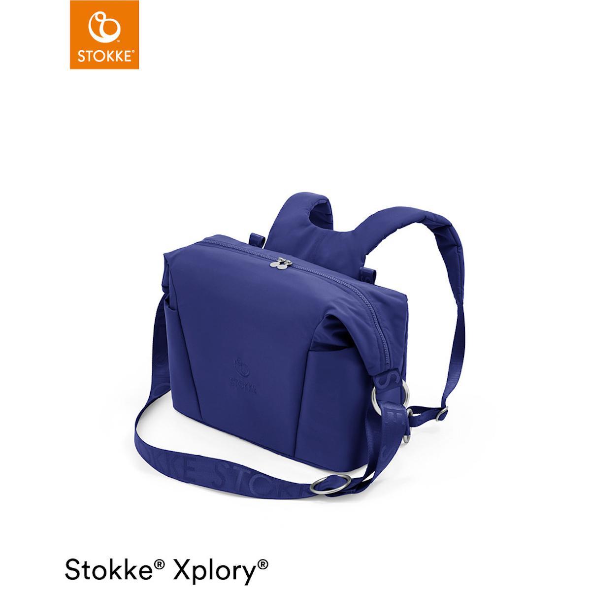 Bolso cambiador XPLORY X Stokke Royal Blue