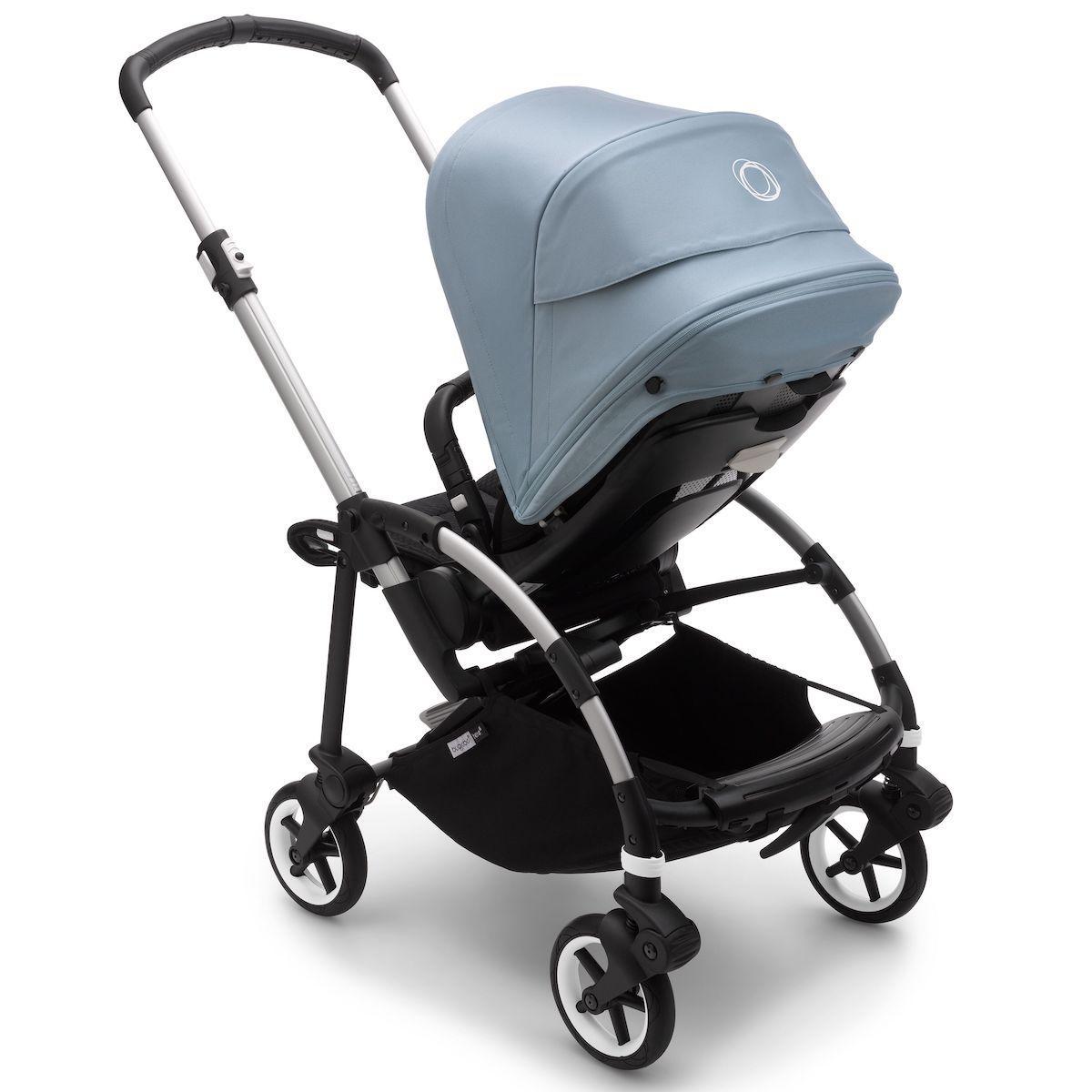 Bugaboo BEE6 carrito completo aluminio-negro-azul vapor