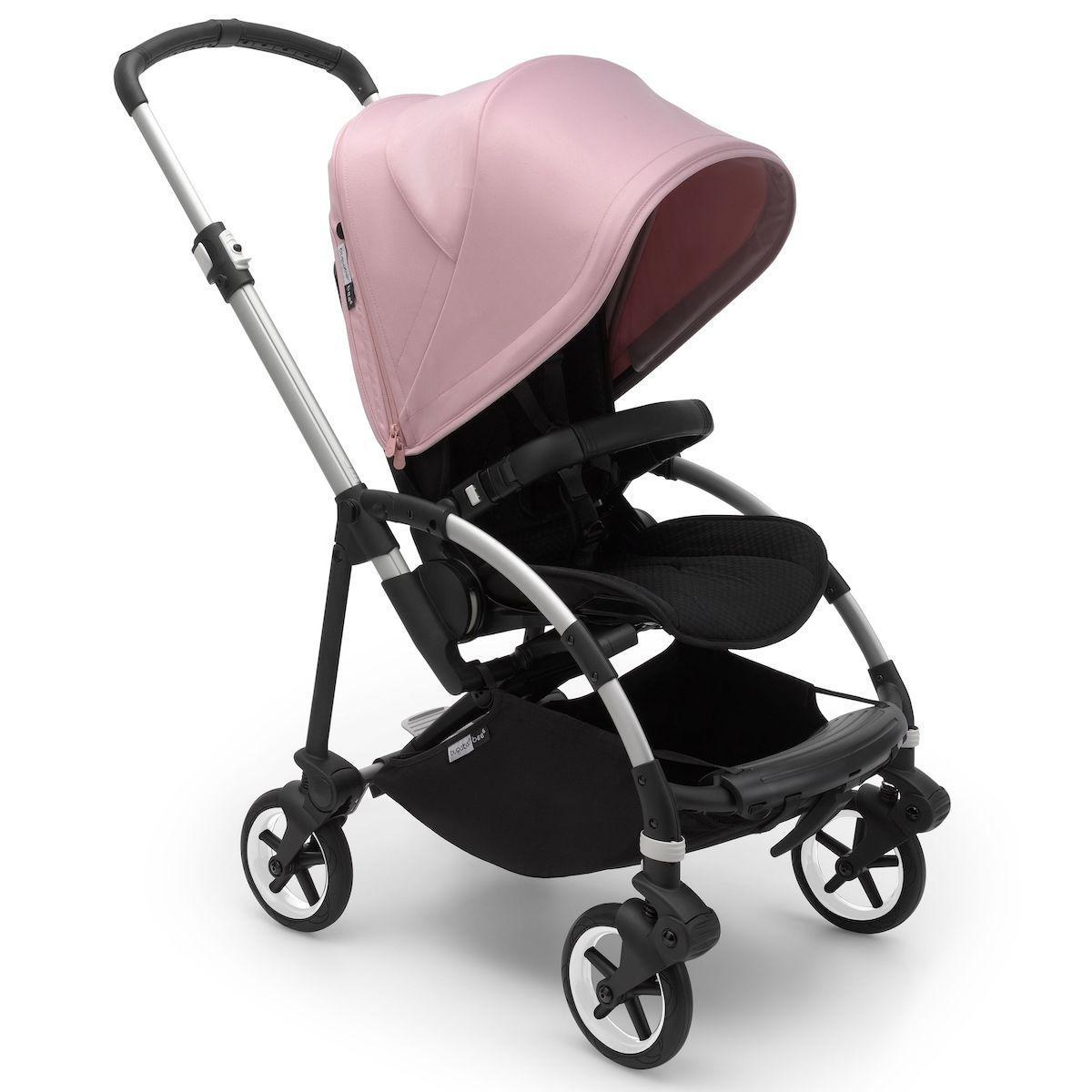 Bugaboo BEE6 carrito completo aluminio-negro-rosa pastel