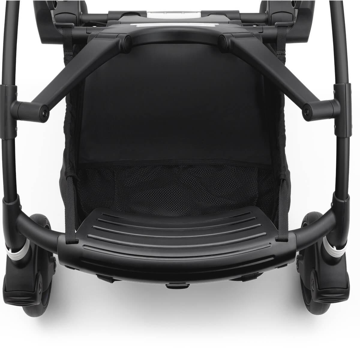 Bugaboo BEE6 carrito completo negro-gris melange-negro