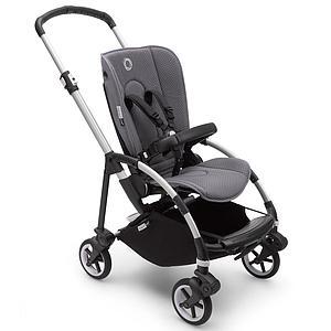 Bugaboo BEE6 chasis-silla aluminio-gris melange