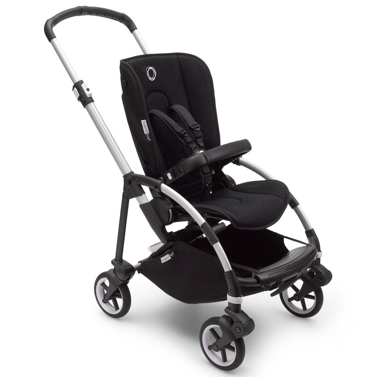 Bugaboo BEE6 chasis-silla aluminio-negro