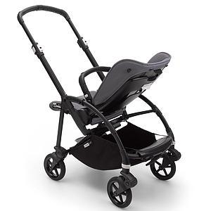 Bugaboo BEE6 chasis-silla negro-gris melange