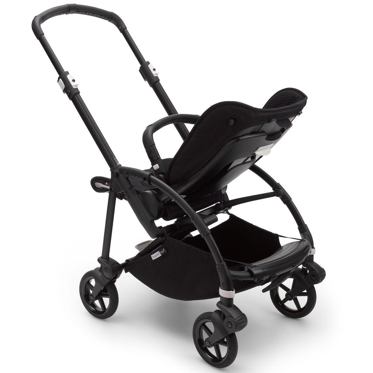 Bugaboo BEE6 chasis-silla negro-negro