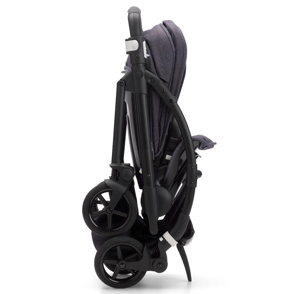 Bugaboo BEE6 MINERAL carrito completo negro-negro lavado