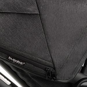 Bugaboo FOX 3 carrito completo Mineral negro-washed black