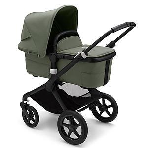 Bugaboo FOX 3 carrito completo negro-verde bosque