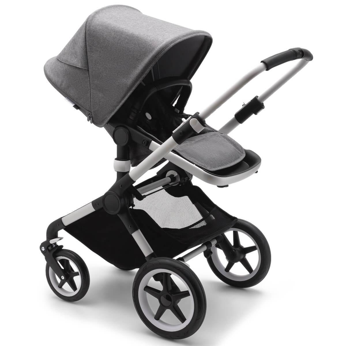 Bugaboo FOX² carrito completo aluminio-gris melange