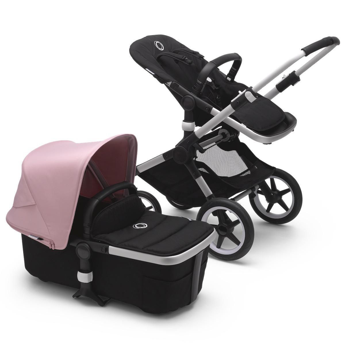 Bugaboo FOX² carrito completo aluminio-negro-rosa pastel