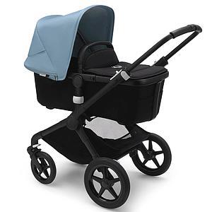 Bugaboo FOX² carrito completo negro-negro-vapor blue