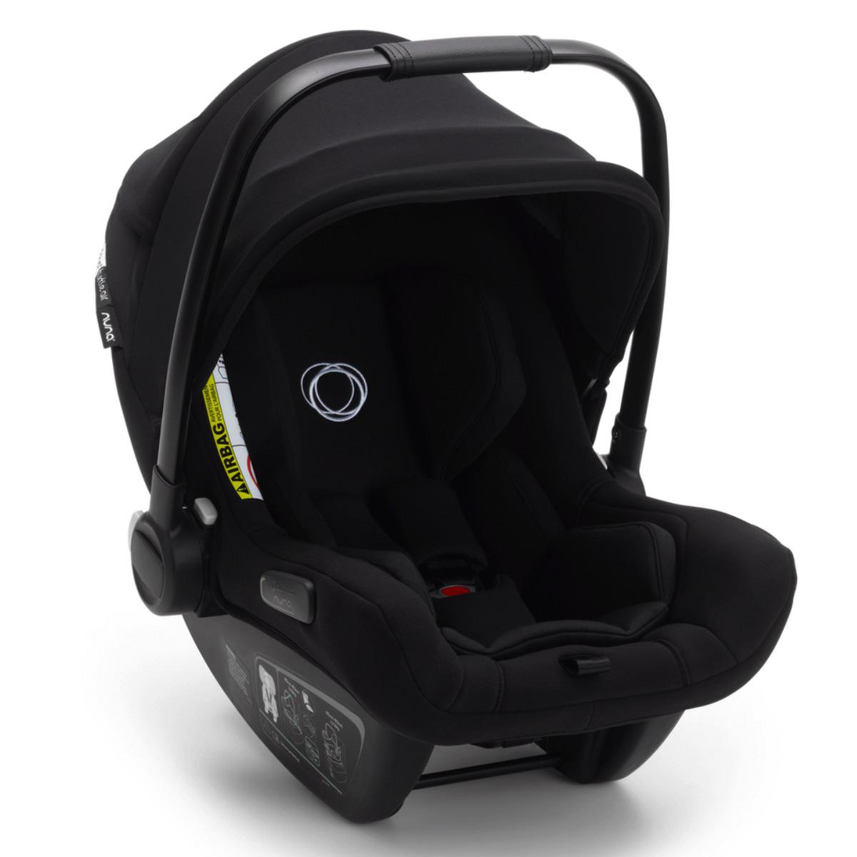 Bugaboo TURTLE AIR by NUNA silla auto negro
