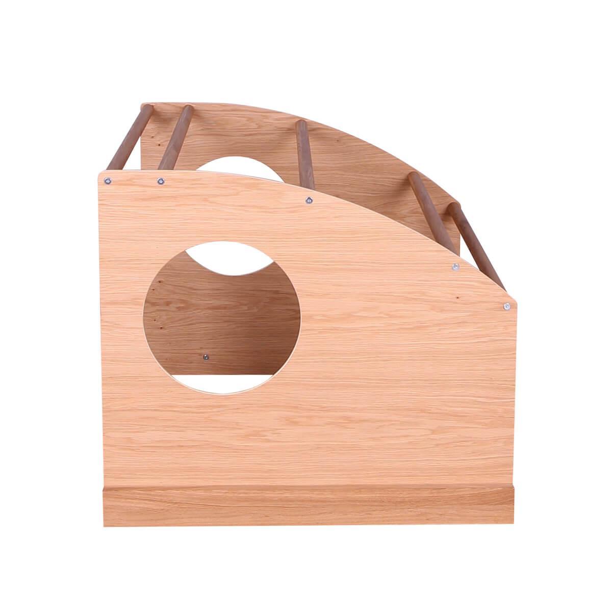 Cabaña juegos cama KASVA multiplex chapa roble