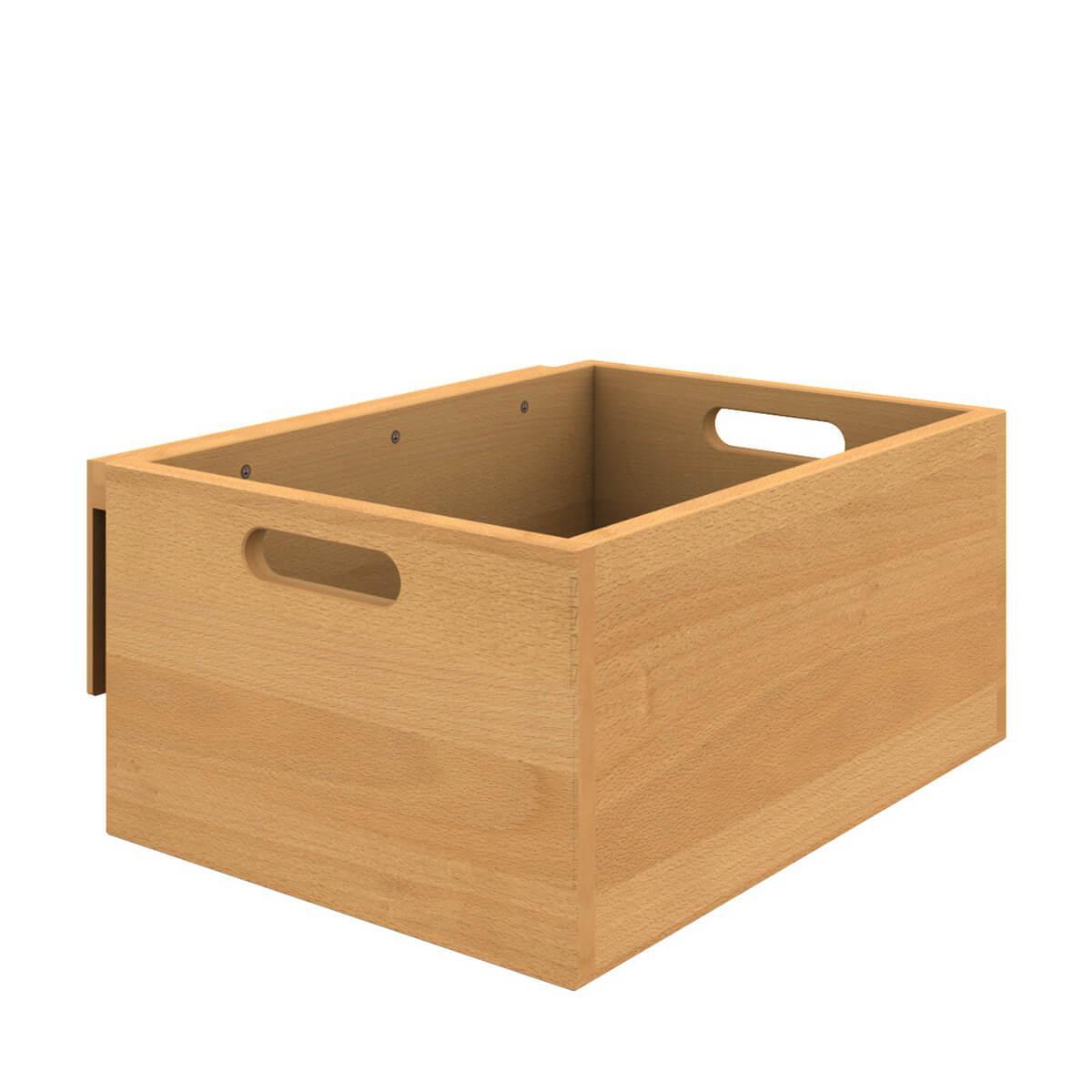 Caja almacenamiento colgante cama DESTYLE de Breuyn haya aceitada
