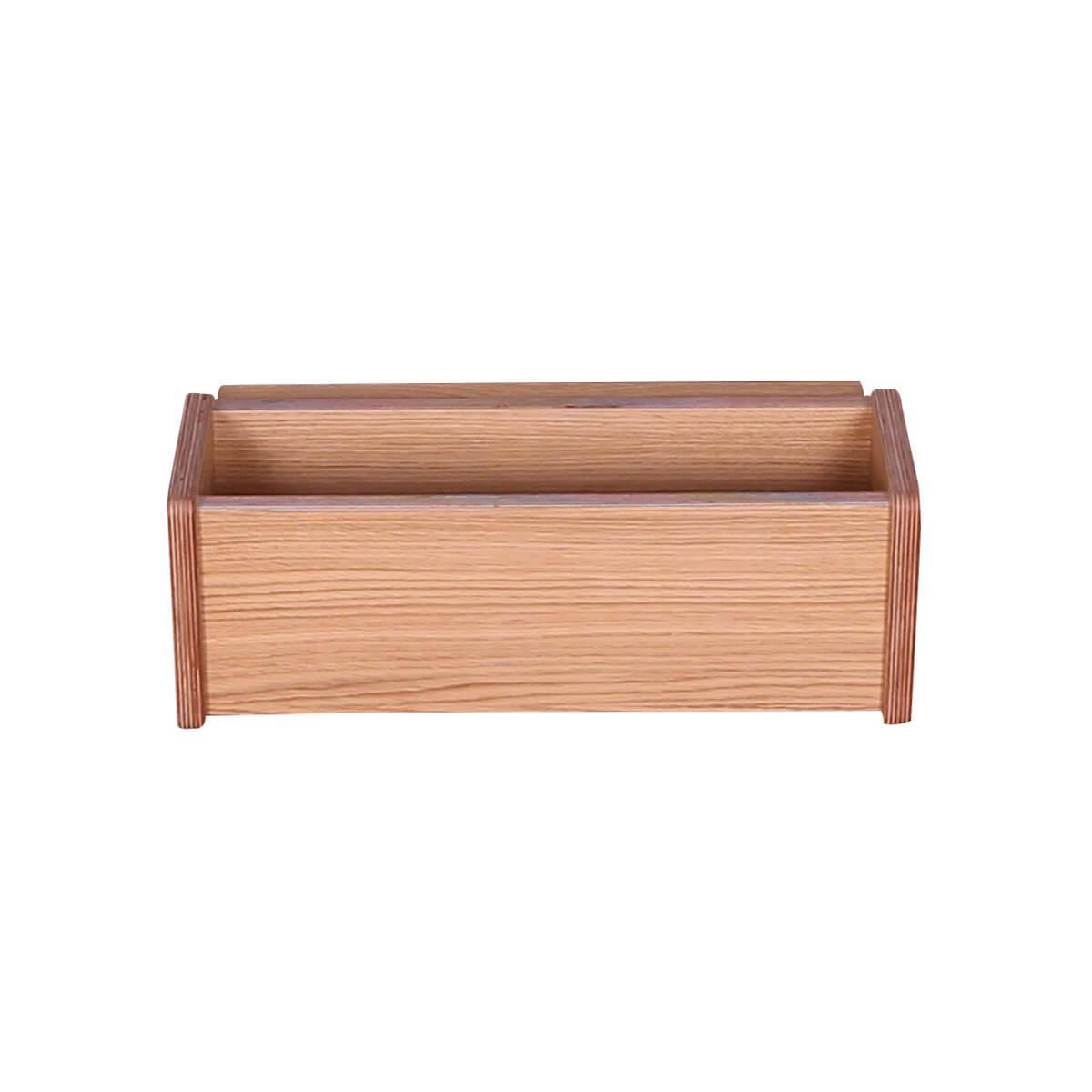 Caja colgante cama KASVA multiplex chapa roble